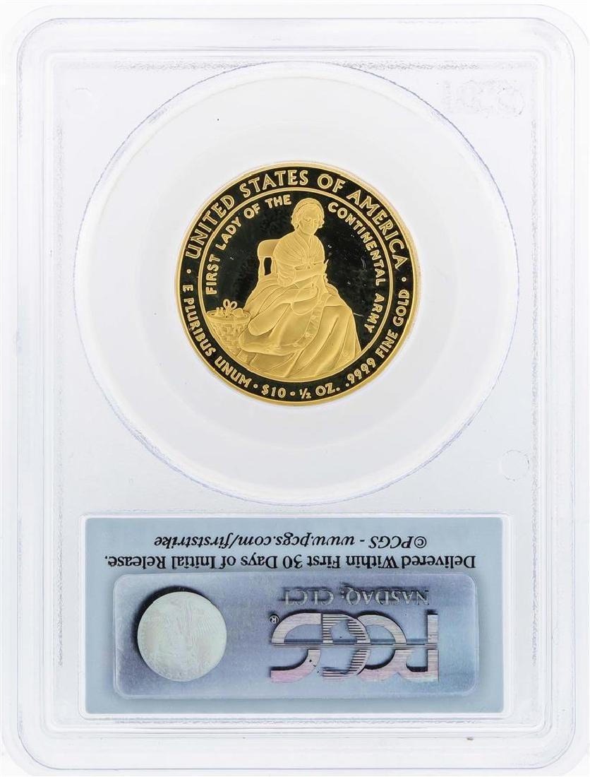 2007-W $10 Martha Washington Commemorative Gold Coin - 2