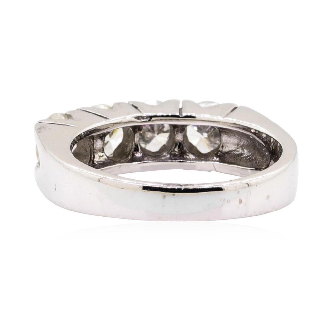 14KT White Gold 1.60 ctw Diamond Ring - 3
