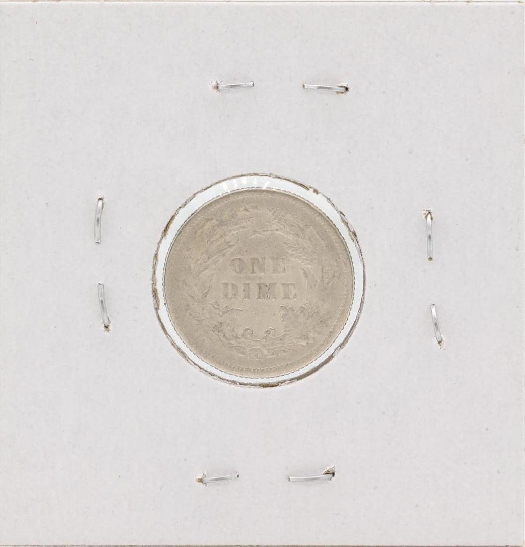 1877-CC Seated Liberty Silver Dime - 2