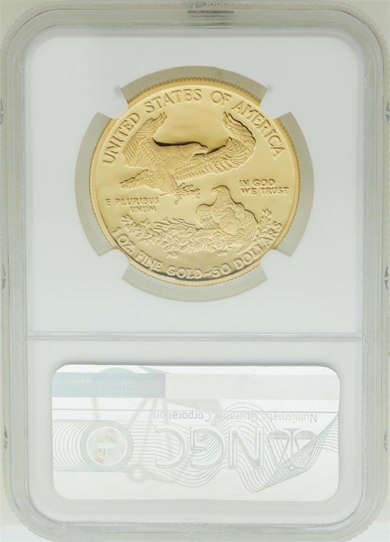 2010-W $50 American Gold Eagle Coin NGC PF70 Ultra - 2
