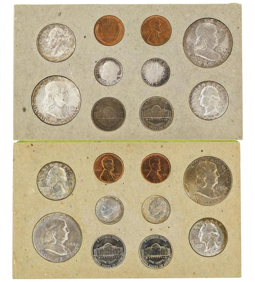 1958 P/D U.S. Double Mint Set