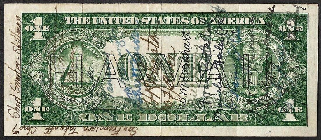 1935A $1 Silver Certificate WWII Emergency Hawaii Short - 2