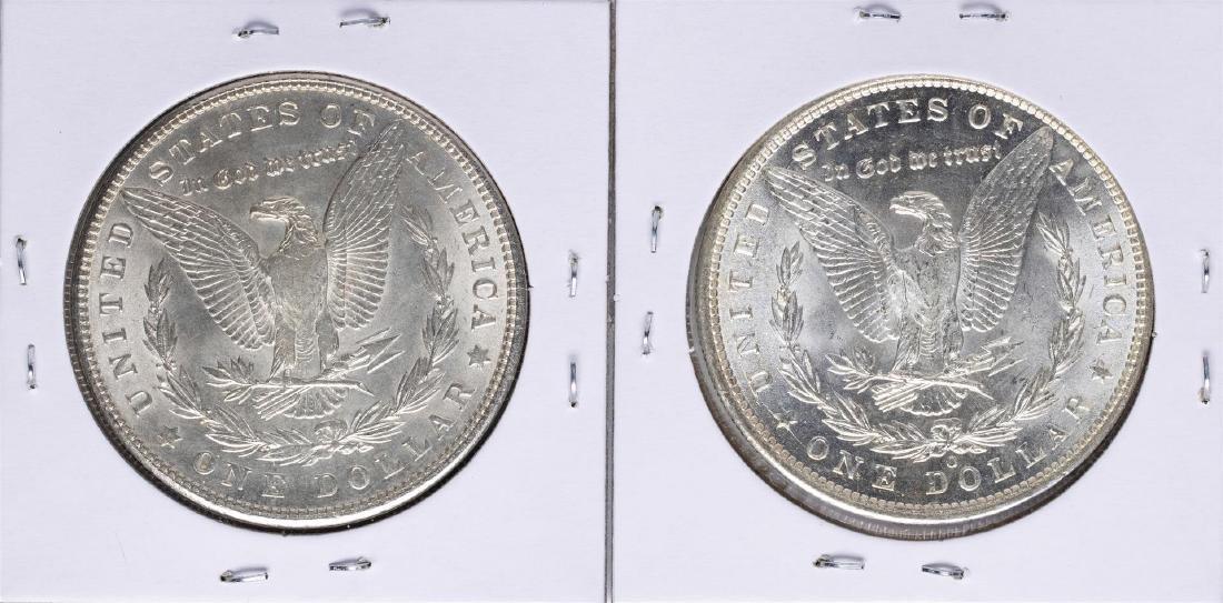 Lot of 1900 & 1900-O $1 Morgan Silver Dollar Coins - 2
