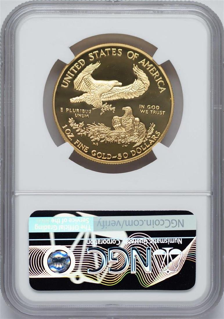 2000-W $50 American Gold Eagle Coin NGC PF69 Ultra - 2
