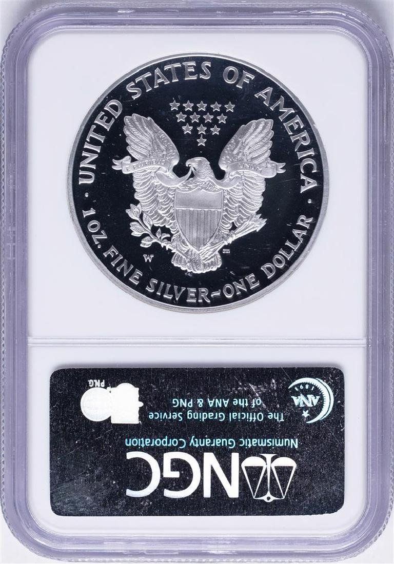 2003-W $1 American Silver Eagle Proof Coin NGC PF69 - 2