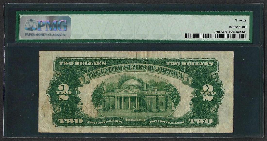 1928D $2 Legal Tender STAR Note Fr.1505* PMG Very Fine - 2
