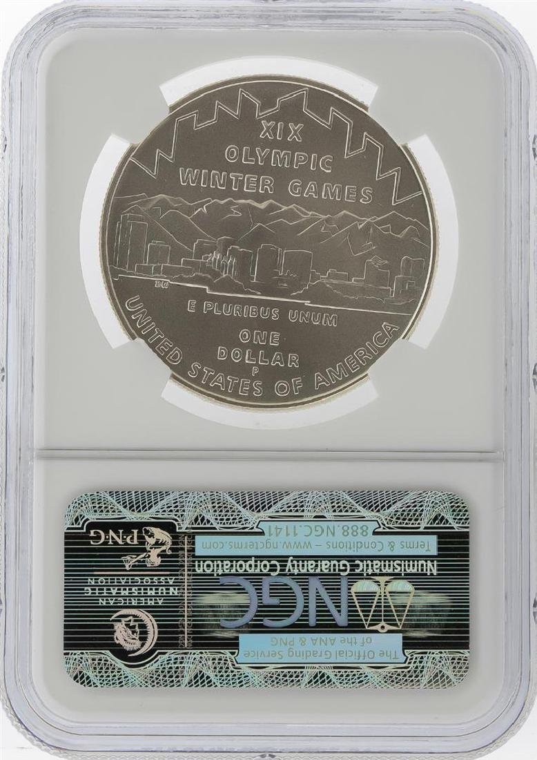 2002-P $1 Salt Lake Olympics Silver Coin NGC MS70 - 2