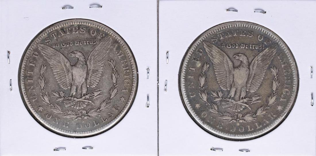 Lot of 1883-S & 1884-S $1 Morgan Silver Dollar Coins - 2