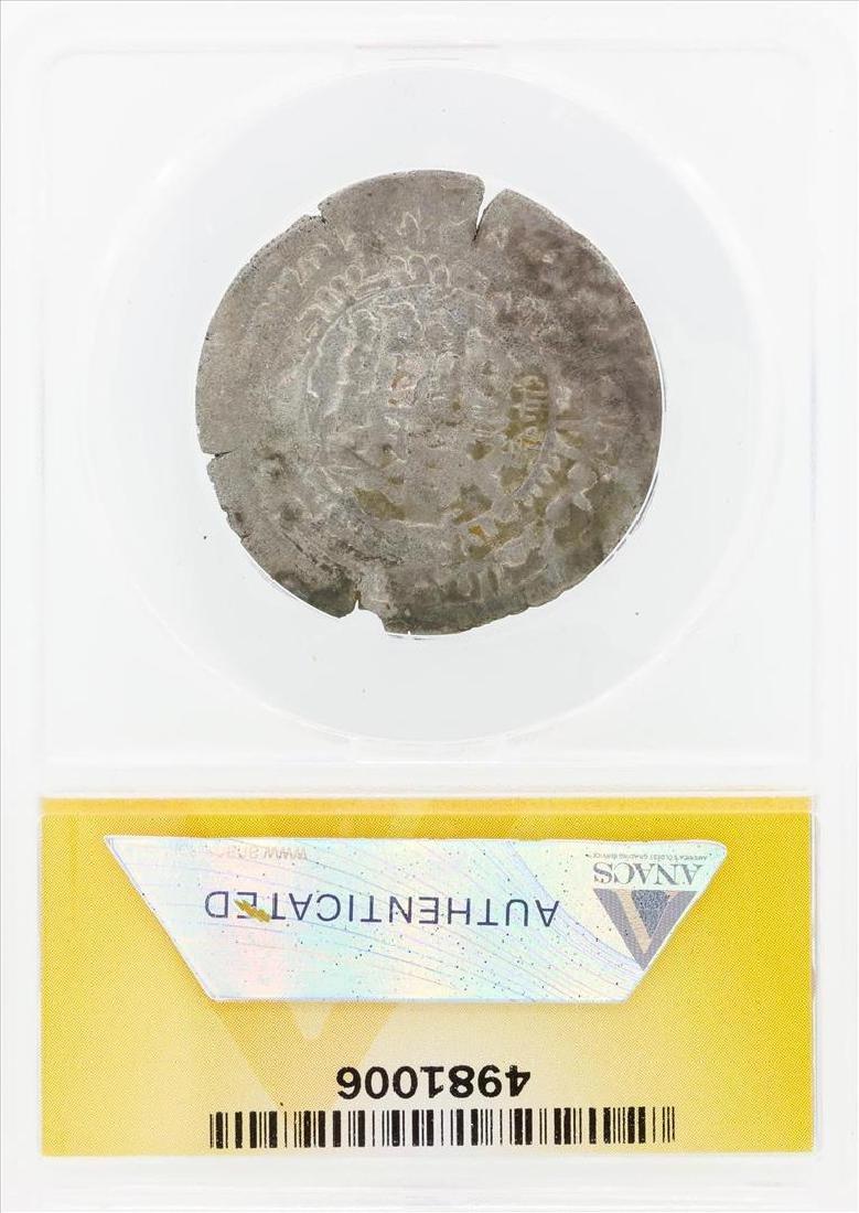AD 976-997 Dirham Samanid Nuh III Balkh Coin ANACS VF30 - 2