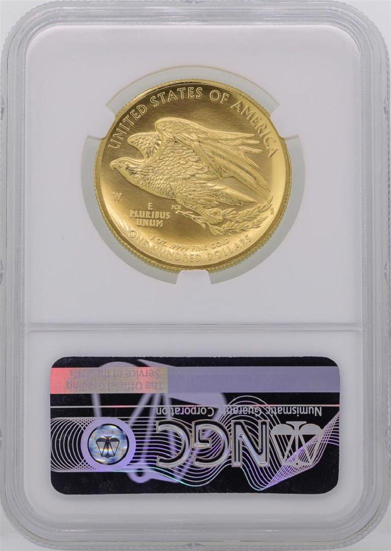 2015-W $100 American Liberty High Relief Gold Coin NGC - 2