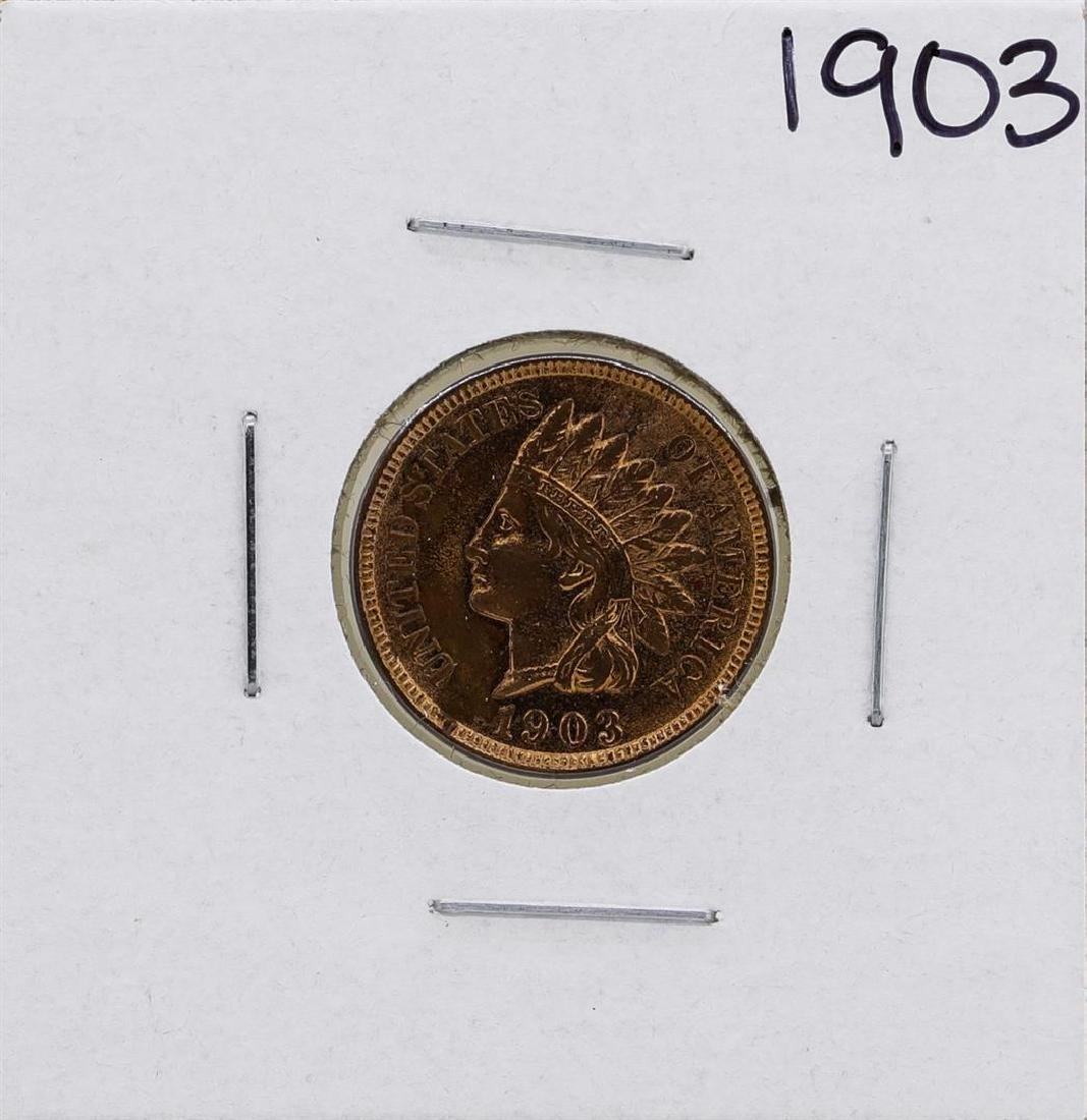 1903 Indian Head Cent Coin