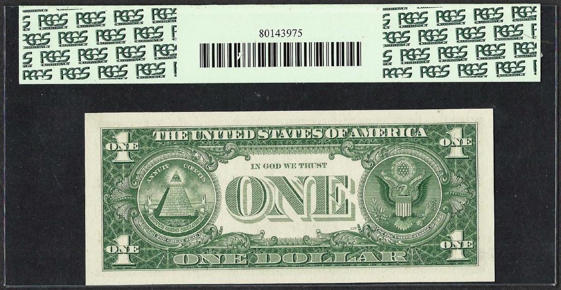 1957 $1 Silver Certificate STAR Note PCGS Superb Gem - 2