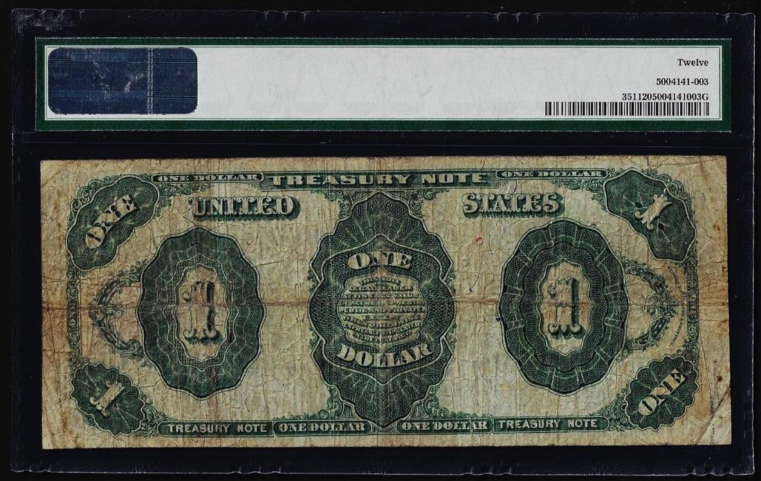 1891 $1 Treasury Note Fr.351 PMG Fine 12 - 2