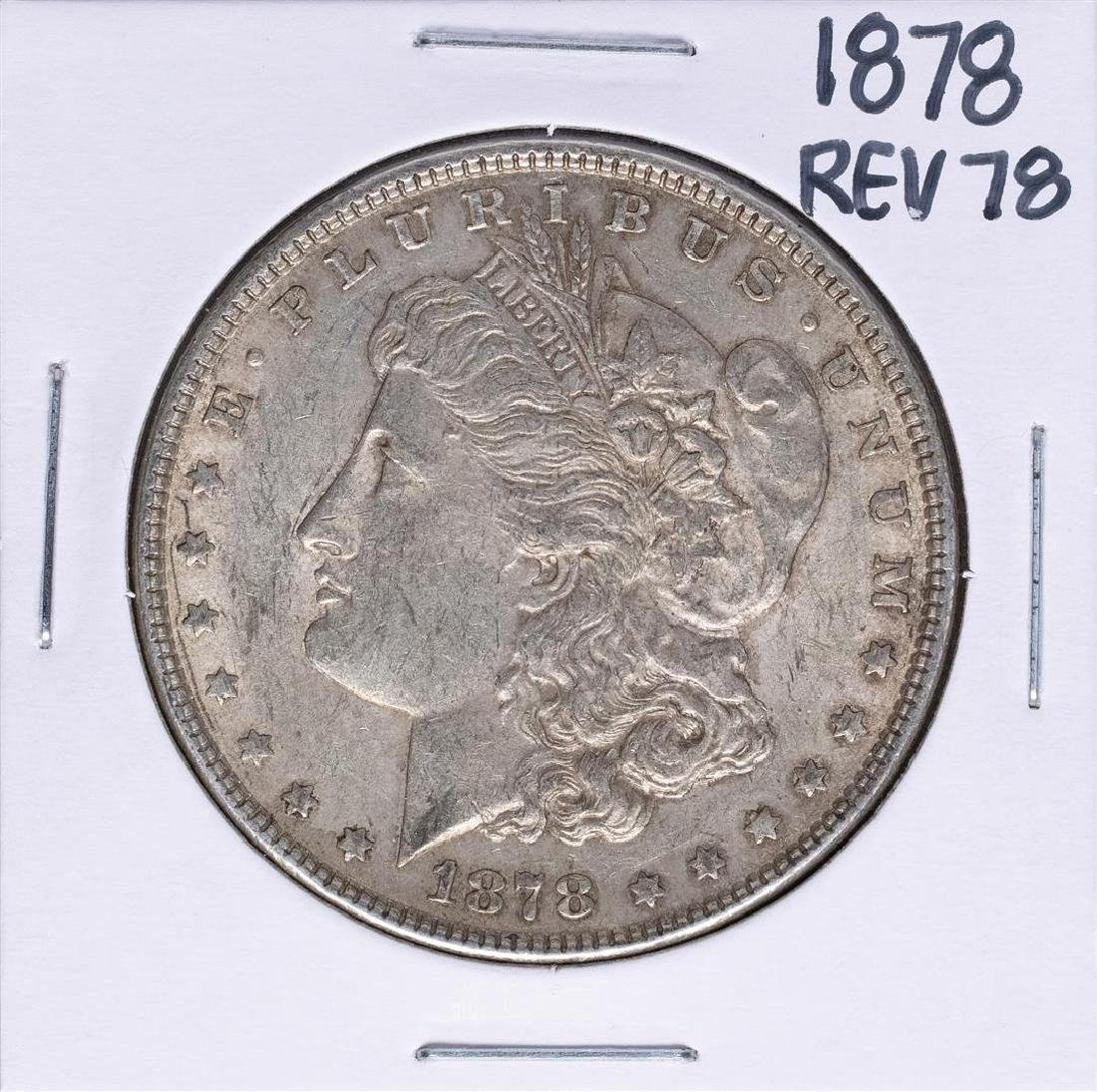 1878 Reverse of 78' $1 Morgan Silver Dollar Coin