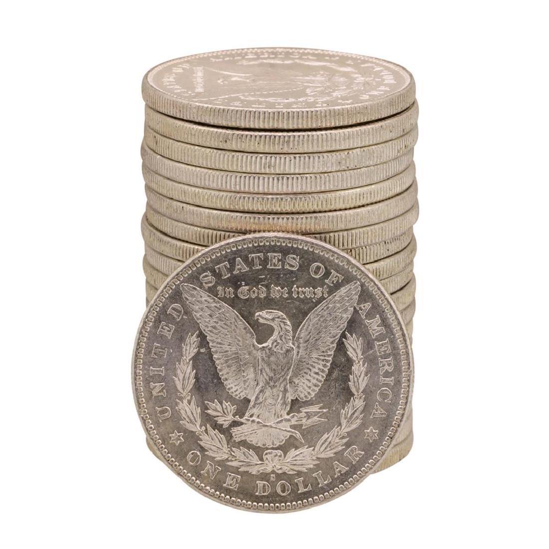 Roll of (20) Brilliant Uncirculated 1878-S $1 Morgan - 2