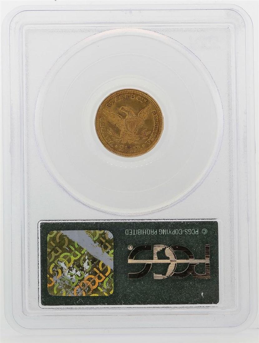 1905 $2 1/2 Liberty Head Quarter Eagle Gold Coin PCGS - 2