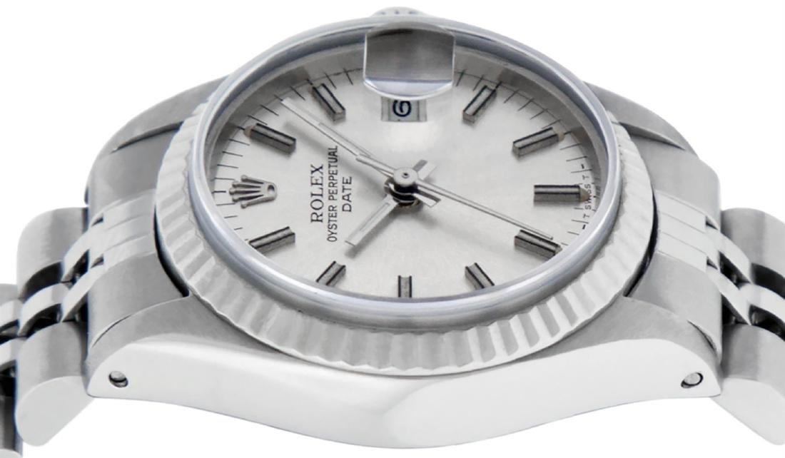 Rolex Ladies Stainless Steel Silver Index 26MM Datejust - 3