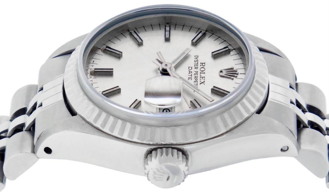 Rolex Ladies Stainless Steel Silver Index 26MM Datejust - 4