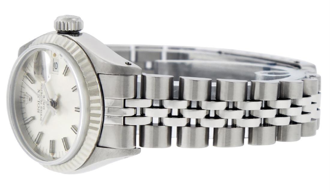 Rolex Ladies Stainless Steel Silver Index 26MM Datejust - 5