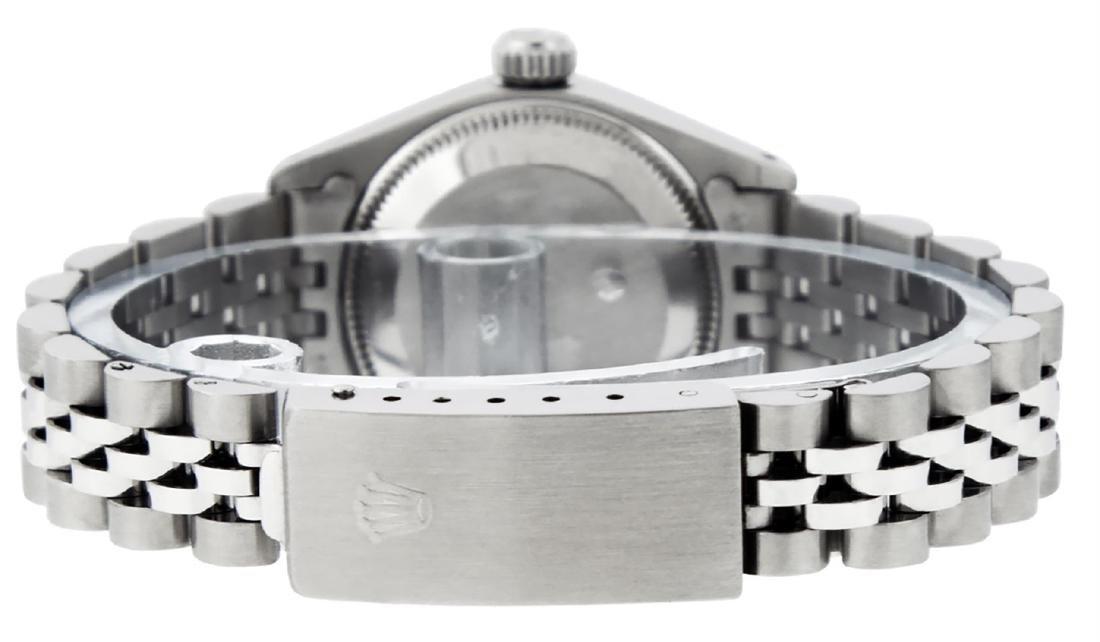Rolex Ladies Stainless Steel Silver Index 26MM Datejust - 6