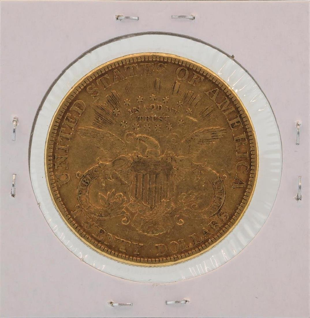 1894 $20 Liberty Head Double Eagle Gold Coin - 2