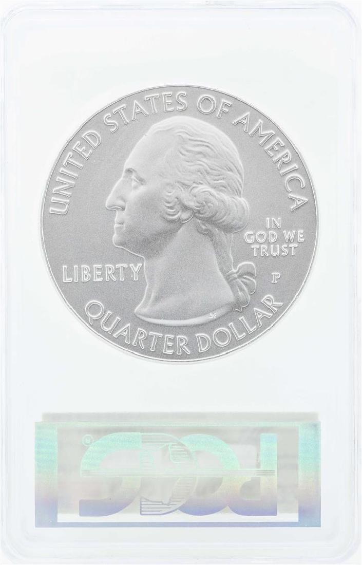 2016-P Shawnee 5 oz. Silver Quarter Proof Coin PCGS - 2