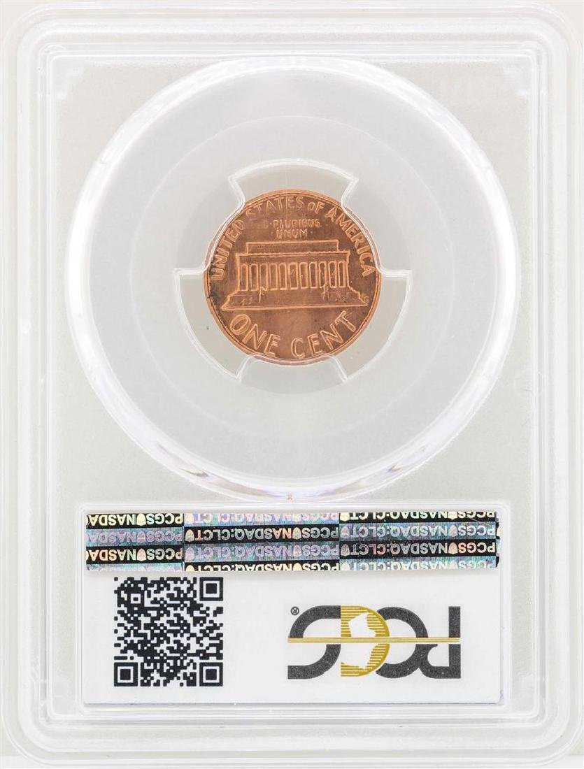 1983 Doubled Die Reverse Lincoln Cent Coin PCGS MS66RD - 2