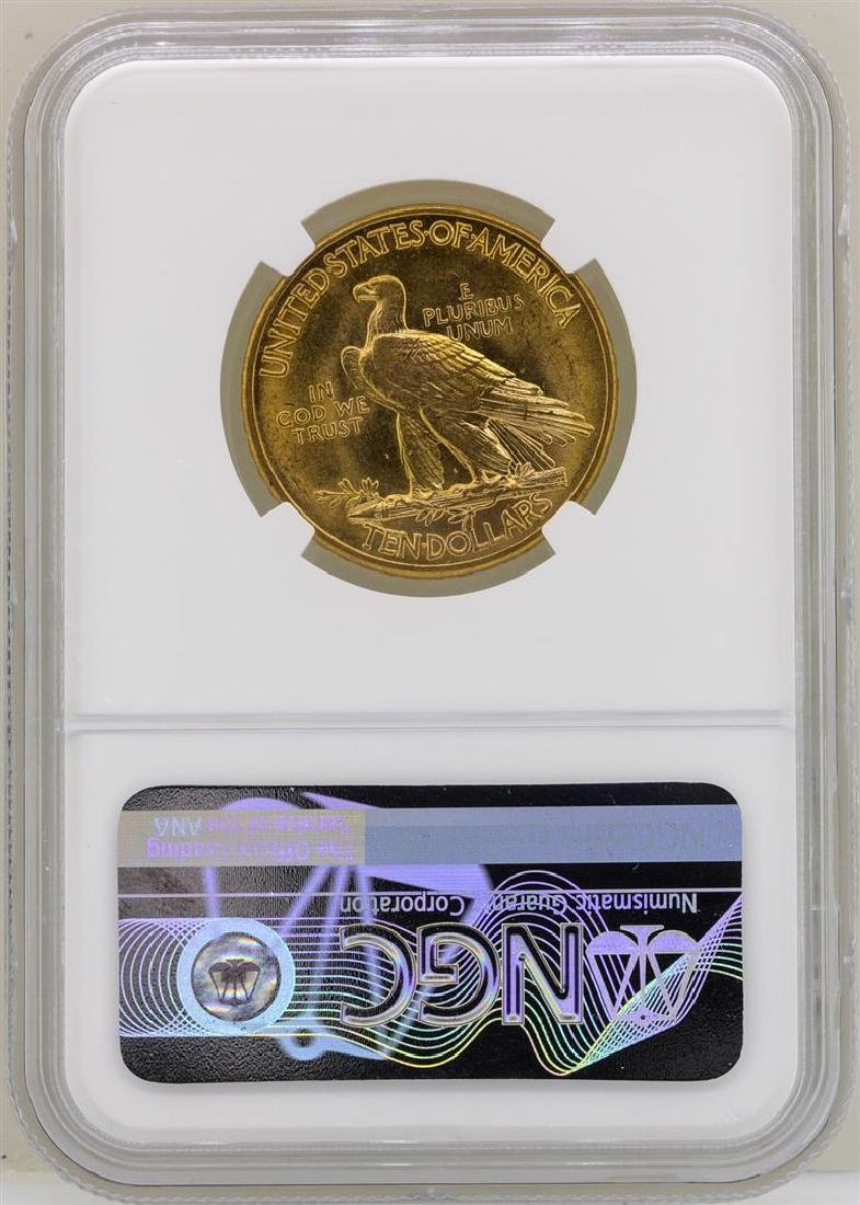 1915 $10 Indian Head Eagle Gold Coin NGC MS61 - 2