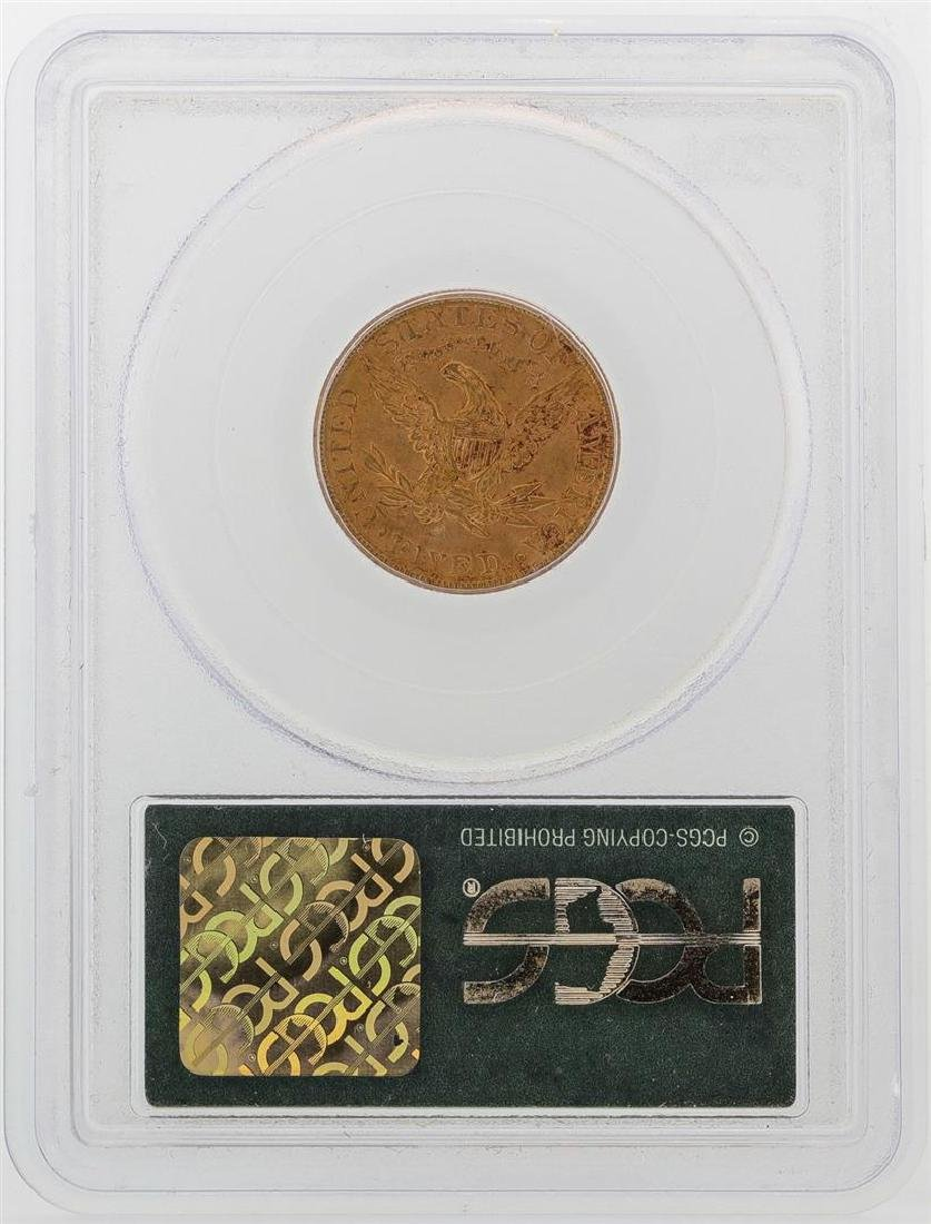 1886-S $5 Liberty Head Half Eagle Gold Coin PCGS MS62 - 2