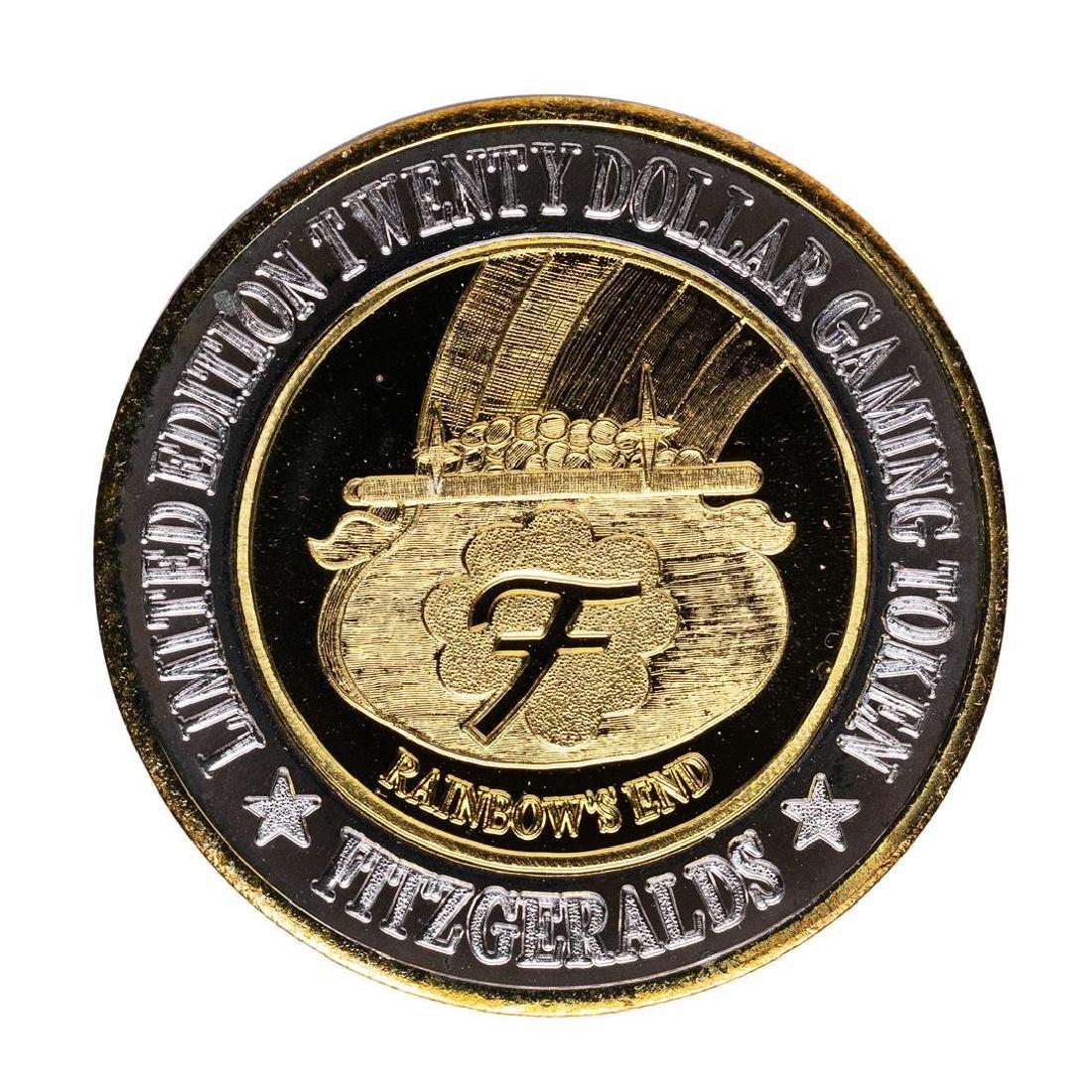 .999 Silver Fitzgeralds Casino & Hotel Las Vegas, NV - 2