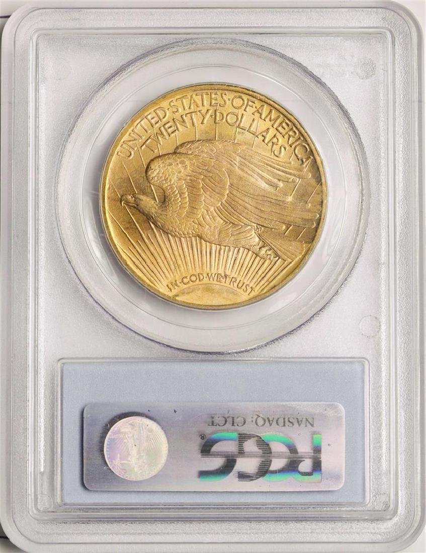 1922 $20 St. Gaudens Double Eagle Gold Coin PCGS MS65 - 2