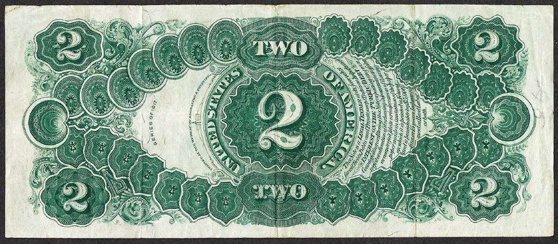 1917 $2 Legal Tender Note - 2
