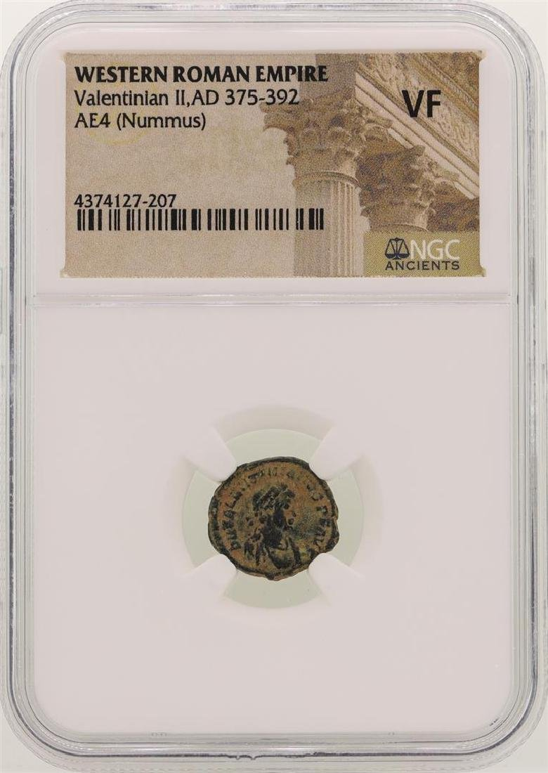 Valentinian ll 375-392 AD Ancient Western Roman Empire