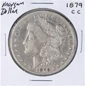 1879CC 1 Morgan Silver Dollar Coin
