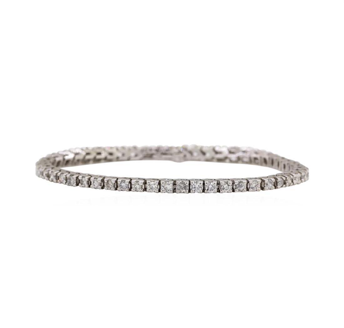 14KT White Gold 2.60 ctw Diamond Bracelet