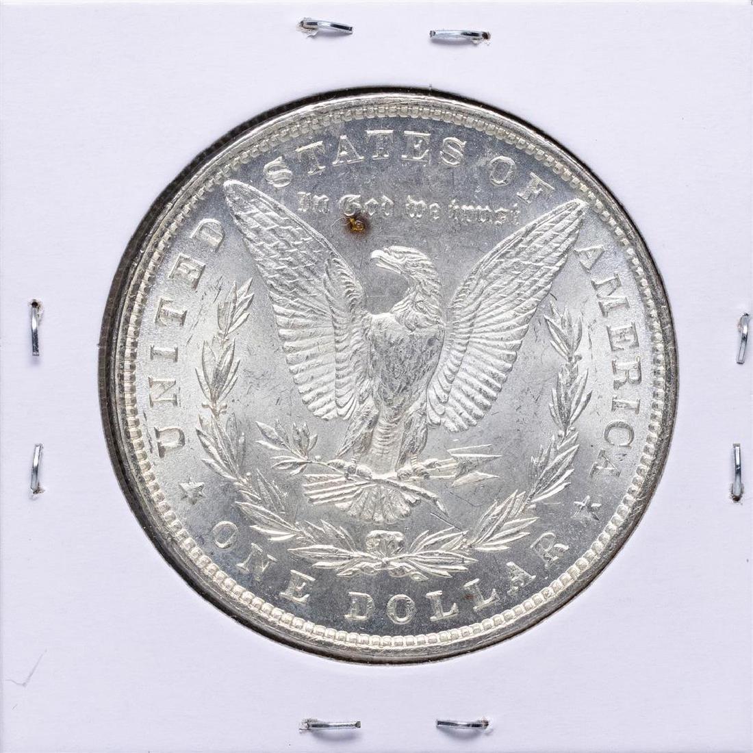 1880 $1 Morgan Silver Dollar Coin - 2