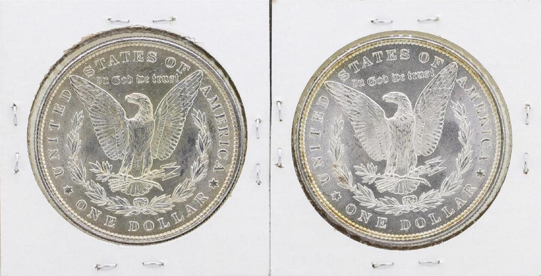 Lot of 1884-1885 $1 Morgan Silver Dollar Coins - 2