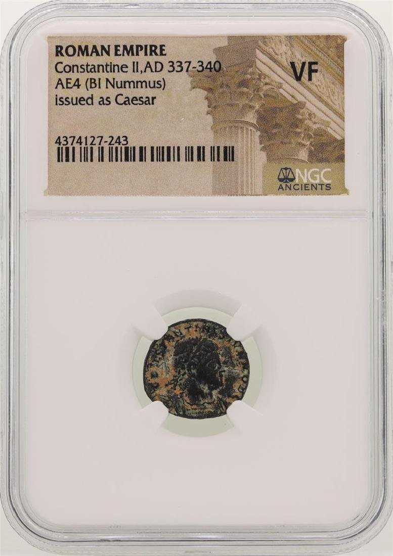Constantine ll 337-340 AD Ancient Roman Empire Coin NGC