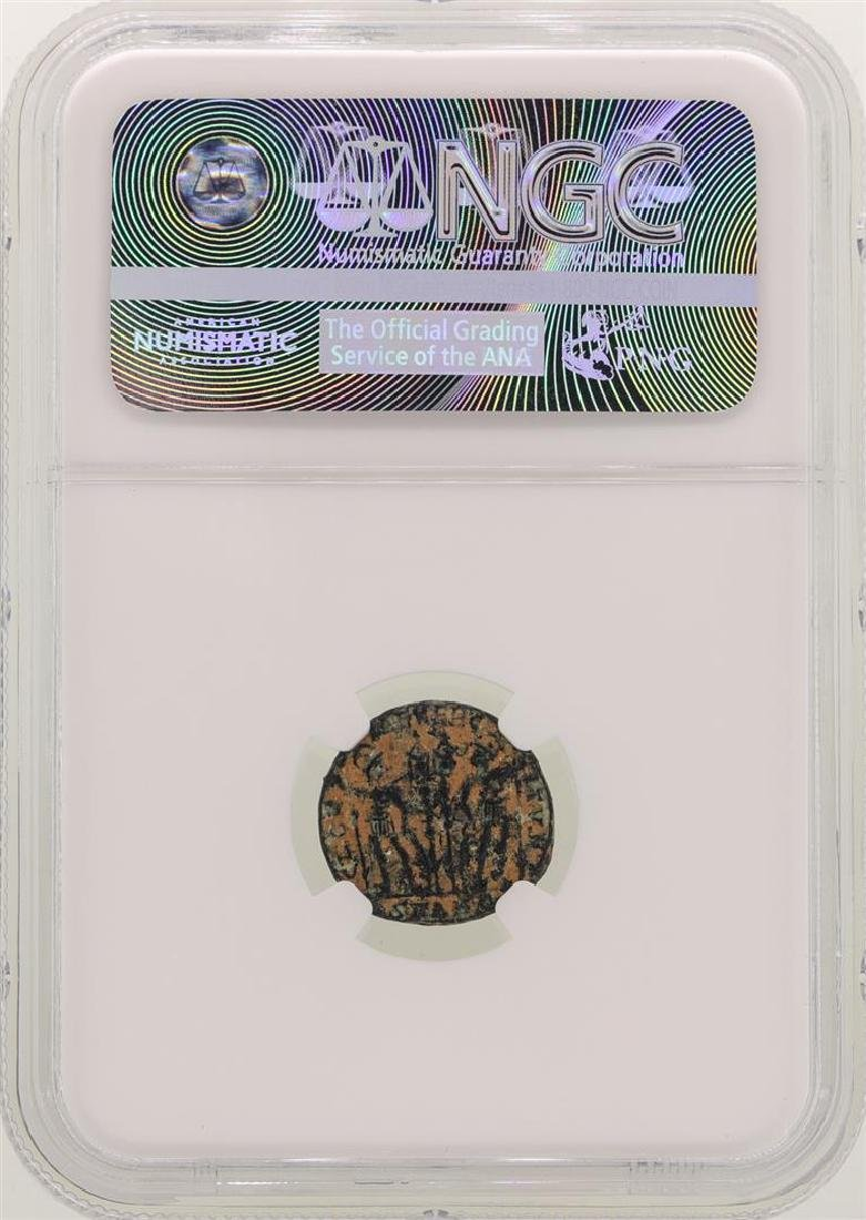 Constantine ll 337-340 AD Ancient Roman Empire Coin NGC - 2