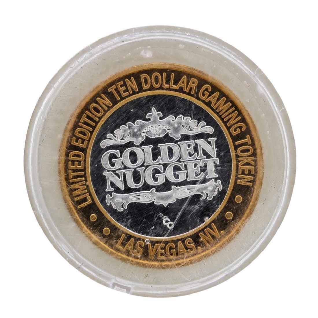 .999 Silver Golden Nugget Las Vegas, Nevada $10 Casino