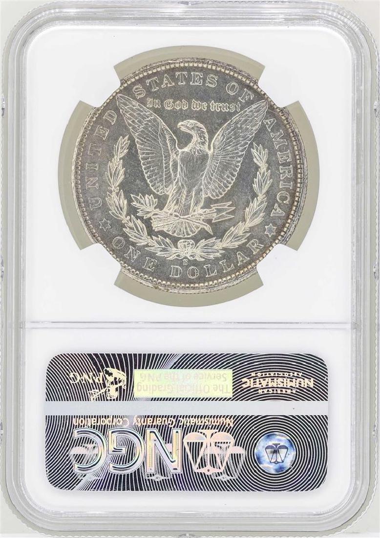 1903-S $1 Morgan Silver Dollar Coin NGC MS63+ - 2
