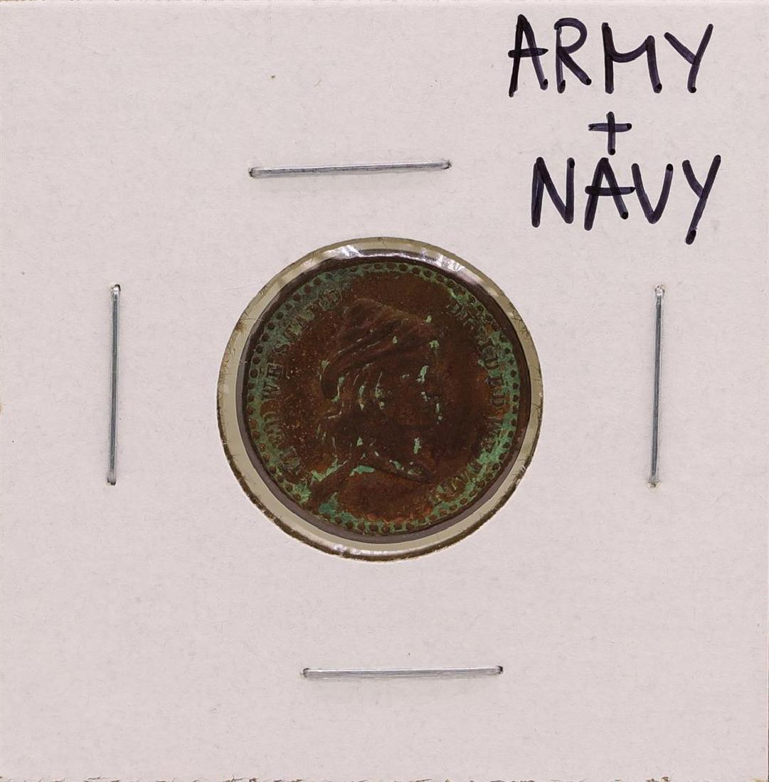 Civil War Era Army Navy Token