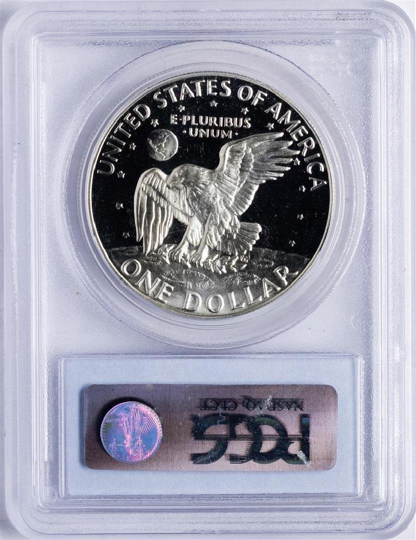1974-S $1 Ike Eisenhower Proof Silver Dollar Coin PCGS - 2
