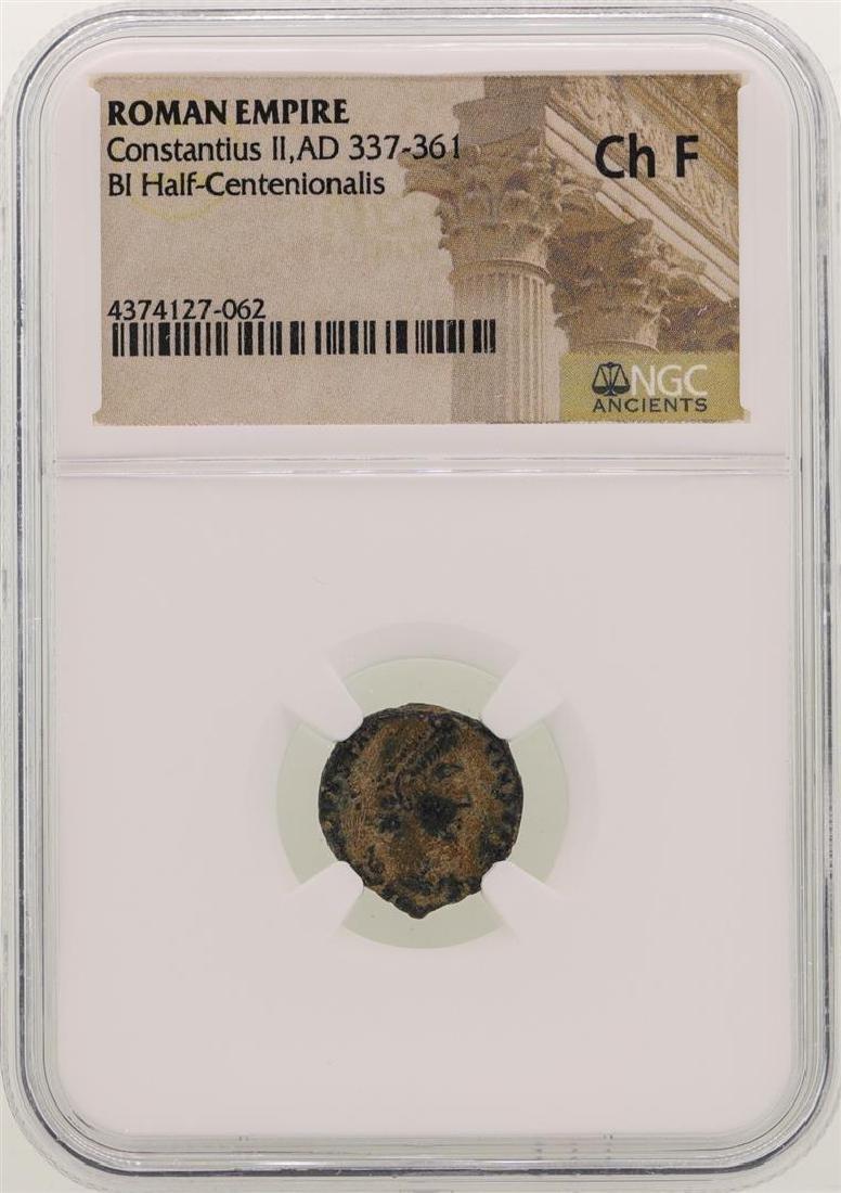 Constantius ll 337-361 AD Ancient Roman Empire Coin NGC