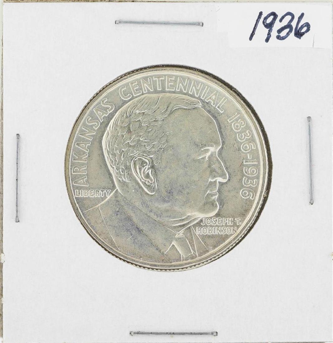 1936 Arkansas Robinson Commemorative Half Dollar Coin