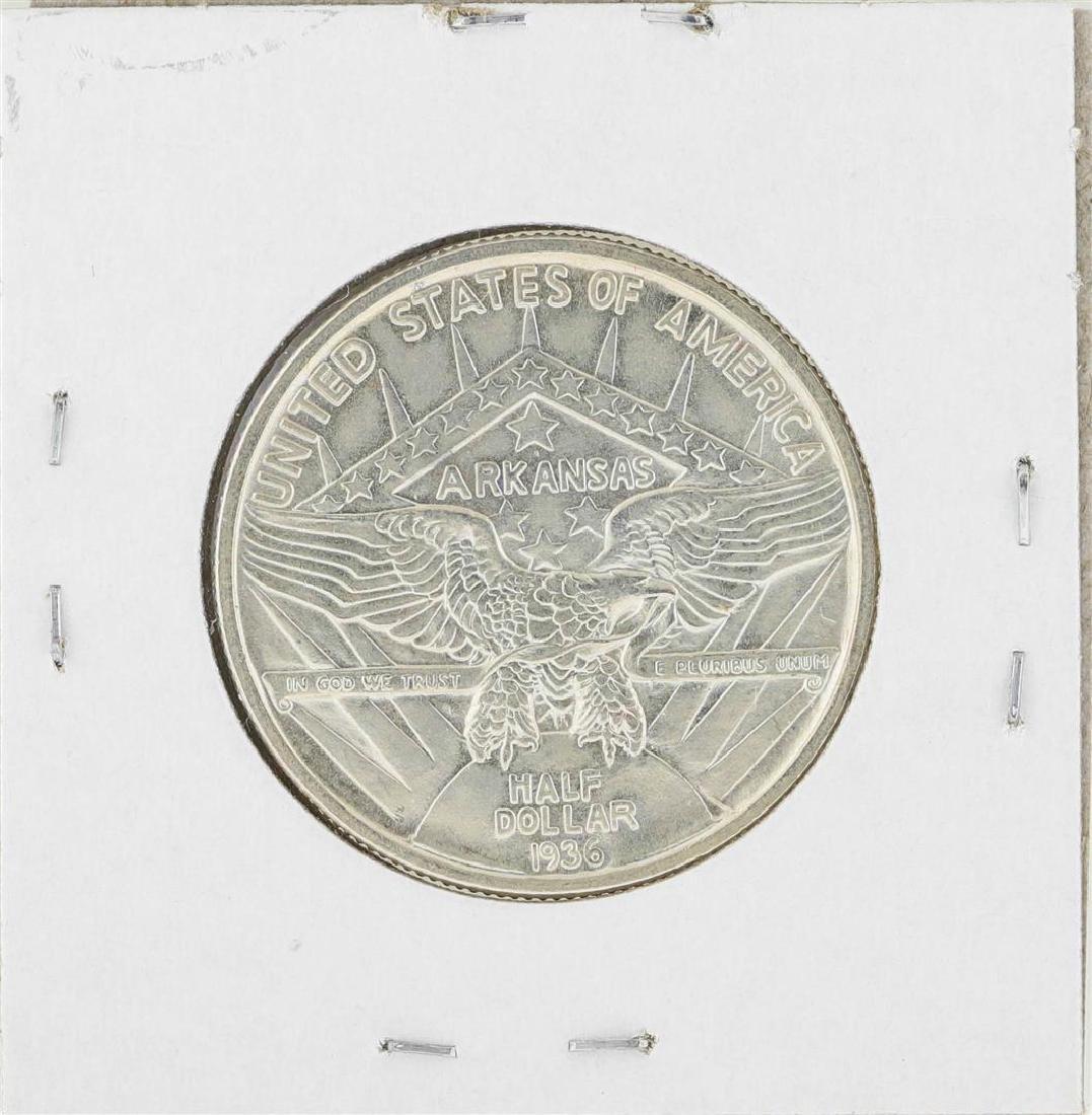 1936 Arkansas Robinson Commemorative Half Dollar Coin - 2