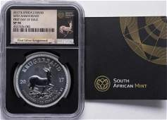 2017 South Africa Krugerrand 50th Anniversary Silver