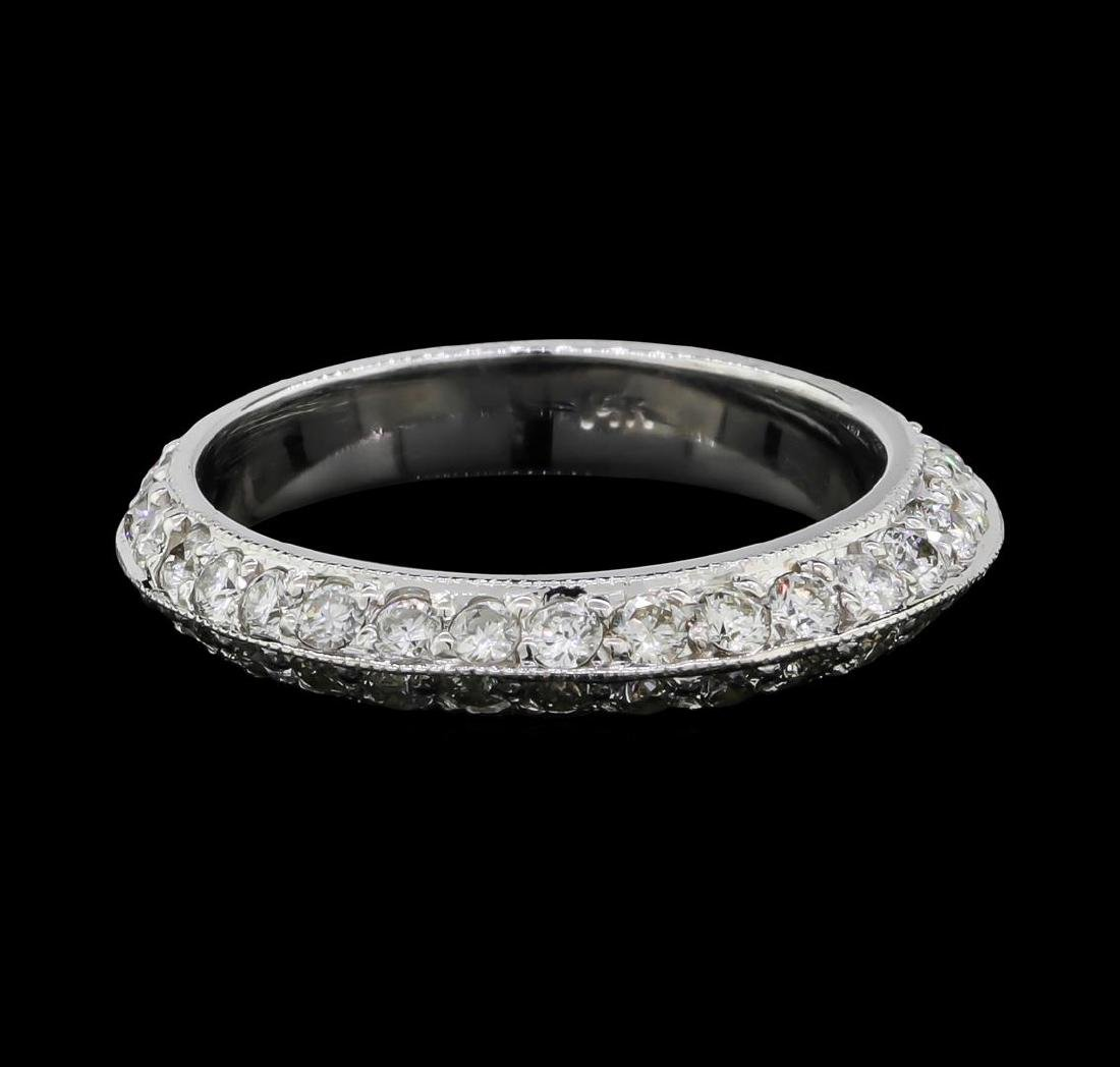 14KT White Gold 1.44 ctw Diamond Eternity Ring - 2