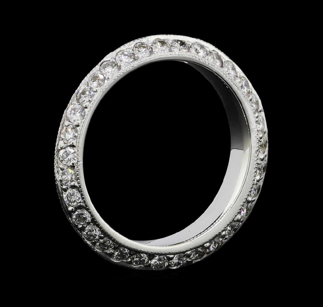 14KT White Gold 1.44 ctw Diamond Eternity Ring - 3