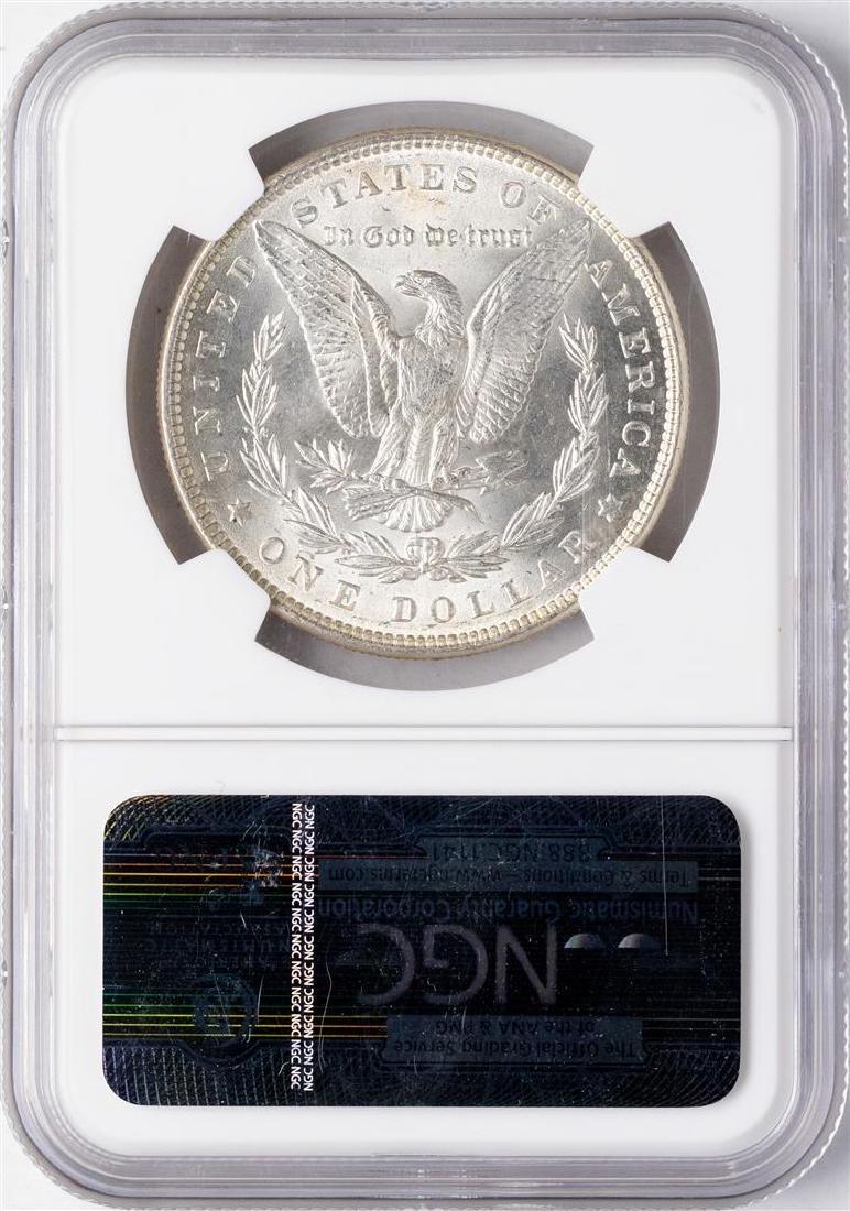 1886 $1 Morgan Silver Dollar Coin NGC MS64 - 2